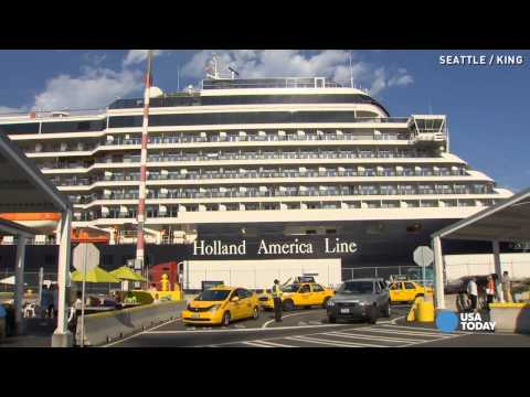 Cruise ship returns to port after deadly plane crash