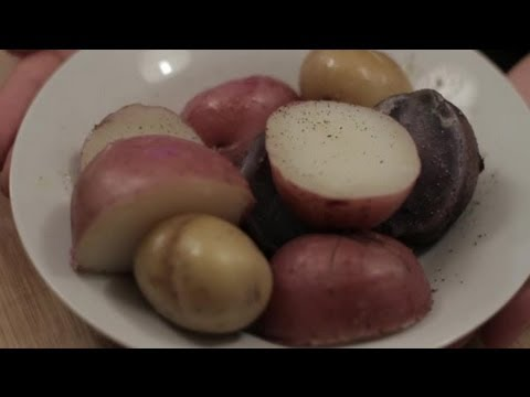 How to Boil & Cut a Potato : Cooking With Potatoes