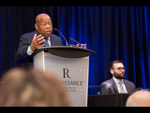 Congressman John Lewis, Andrew Aydin on 'March' | SLJ Summit
