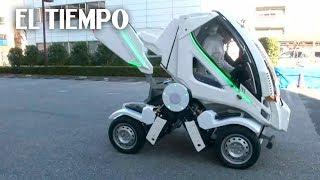 Crean carro plegable para superar falta de espacio para estacionar   EL TIEMPO