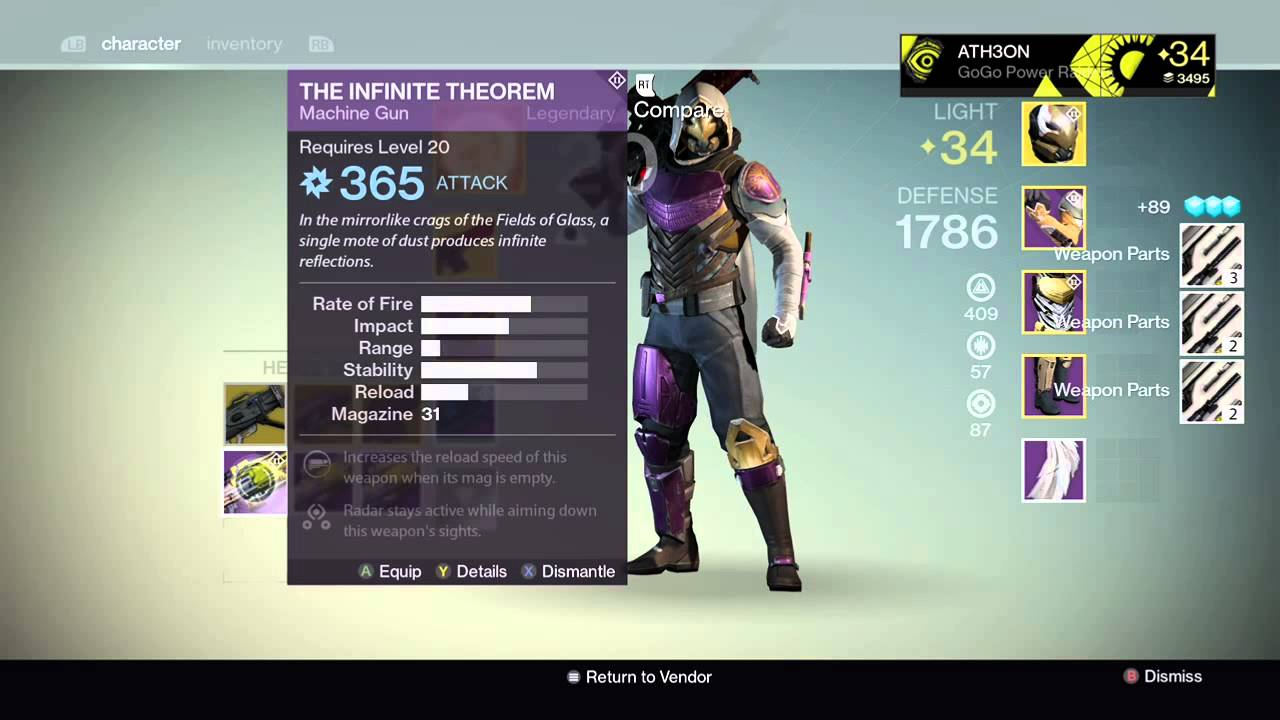 Destiny fastest way to get weapon parts myideasbedroom com