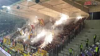 D: Erzgebirge Aue - Dynamo Dresden [Fans]. 2019-04-01