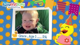BabyFirst BDay - December BDay - 26 - Marlee, Chance , Grace, Isaiah , Morgan, Jalen ll,