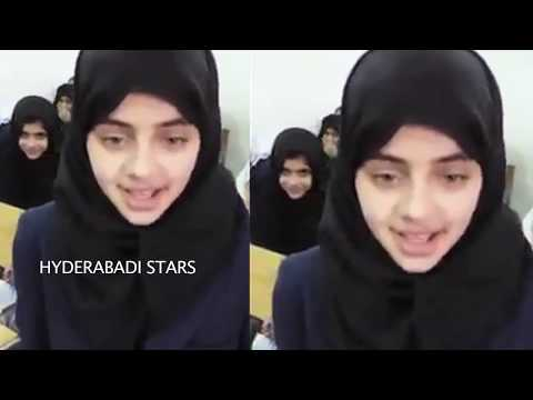 ISLAMIC SCHOOL GIRL PALYING  TRIBUTES TO THE TEACHERS ||  HYDERABADI STARS