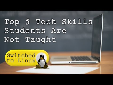 Top 5 Computer Skills Students Are Not Taught