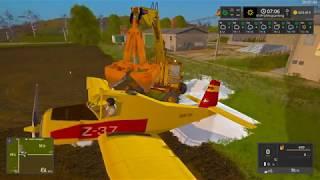 Test_Video zum Flugzeug......in LS17 , habe mich mal als Bruchpilot probiert und FUN gehabt damit,axso,ich habe mir das Flugzeug umgeschrieben,damit man auch Dünger (wie im Video zu sehen)und nicht nur Flüssigdünger laden kann ....... ;)  MfG