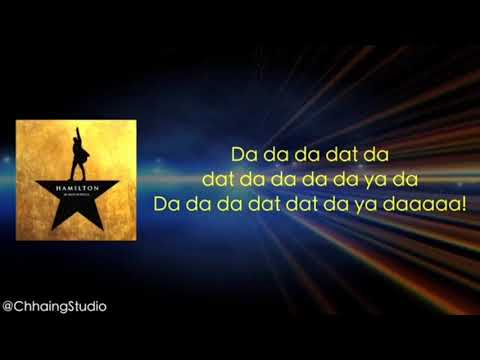 Finish the lyrics Hamilton edition