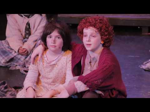 Kidz Theater Annie Jr. Winter 2016 Production - Theater 54