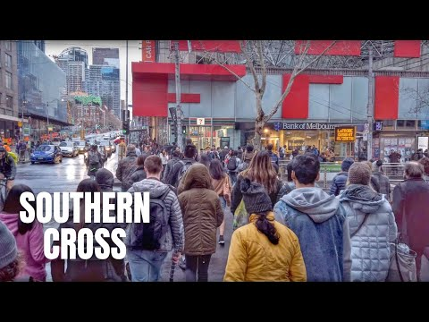 Melbourne Southern Cross Station to Little Bourke Street Melbourne Walking Tour【2019】