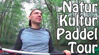Urlaub mit Paddeltour im Kanu durch den Spreewald bei Lübbenau und Lehde (Kanutour 1)