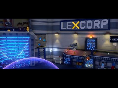 Hidden LexCorp Lab area during Batman Free Roam Walkthrough [Lego Dimensions]