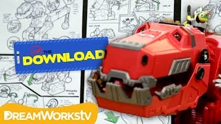 How a DinoTrux Toy Gets Made | THE DREAMWORKS DOWNLOAD