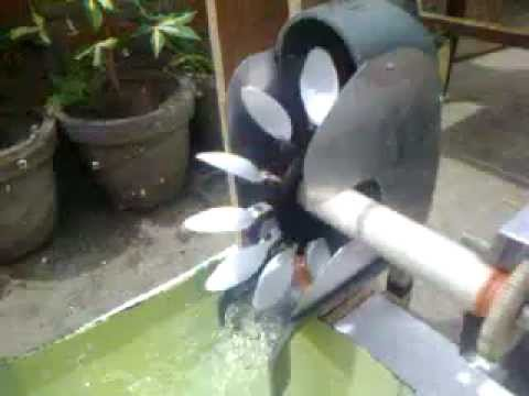 Hydroelectricity Working Model Youtube