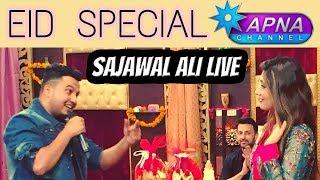 Morning With Babar Ali - Sajawal Ali Live on Apna Tv