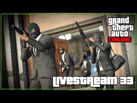 LIVESTREAM #33   GTA5 ONLINE E CS:GO  (PT/PT)