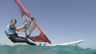 Open ocean windsurfing speed challenge