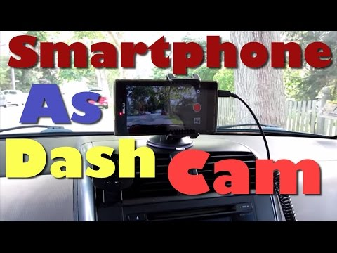 How To Use Your Phone As A DashCam Demo