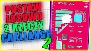 POSTAW LOSOWO DWIE RZECZY CHALLENGE 2 | Ultimate Chicken Horse [#111] | BLADII
