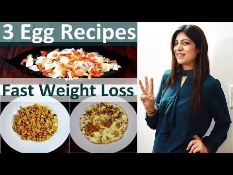 Weight Loss Egg Recipes In Hindi | Egg Recipes For Fast Weight Loss In Hindi|How To Lose Weight Fast