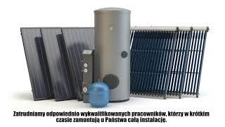 Instalacja fotowoltaiczna pompy ciepła kolektory słoneczne Gdynia Biomar