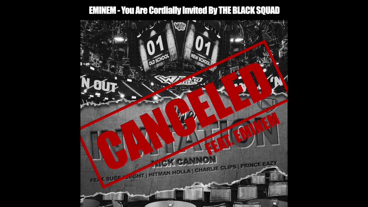 Canceled: Invitation feat. Eminem (Official Audio)