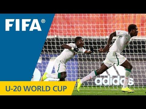 Ukraine v. Senegal - Match Highlights FIFA U-20 World Cup New Zealand 2015