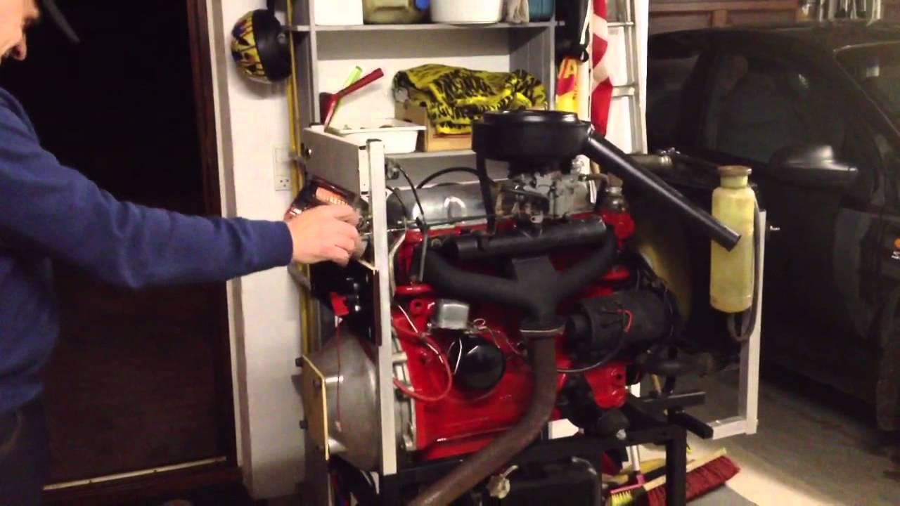 Volvo Amazon B18 engine - YouTube