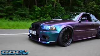 Wrapping BMW e46 Project Purple Caramel