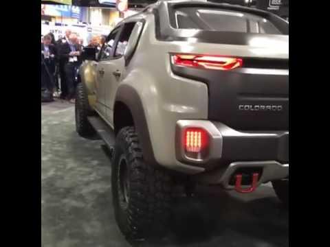 Facebook Live Truck Trend Chevrolet Colorado Zh2 Concept Youtube