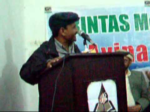 Mzahia Mushaira, Sukhanwar Pakistan, Feb 17, 2013, Abdul Qadir Taban