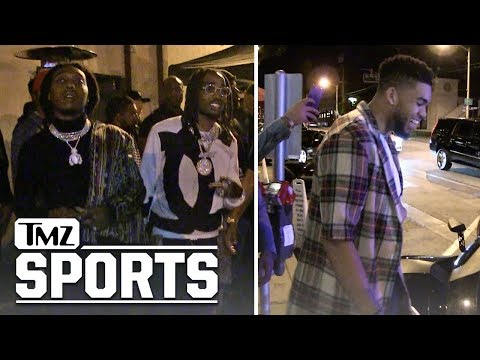Migos and Karl-Anthony Towns Respond to Fergie's Performance | TMZ Sports