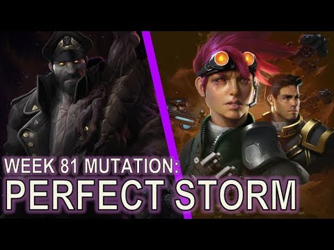 Starcraft 2 Co-Op Mutation #81: Perfect Storm [Icefested]
