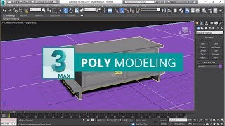 How to design Table in 3ds Max [Poly Modeling Tutorials]