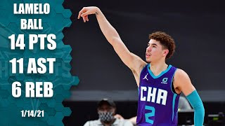 LaMelo Ball posts double-double vs. Raptors [HIGHLIGHTS] | NBA on ESPN