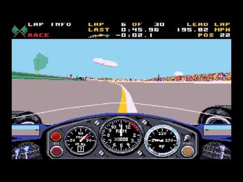 Indianapolis 500: The Simulation - 30-lap race
