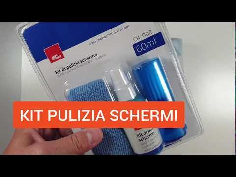 Kit Di Pulizia Schermi TV E Monitor - Modello CK-002