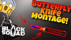 Butterfly Knife Montage - Black Squad | Perian