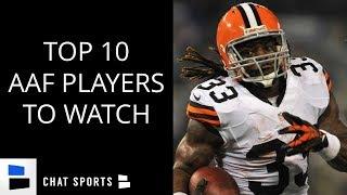 AAF: 10 Offensive Players NFL Teams Are Watching - Trent Richardson, Garrett Gilbert, John Wolford
