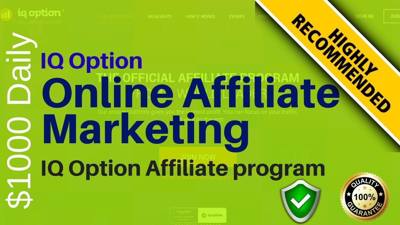 Binary options affiliate program blackhat