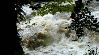 River Endrick Scotland Pots of Gartness Salmon Leap