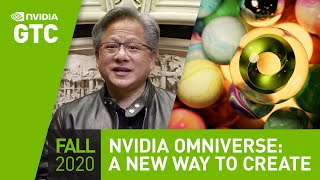 "GPU Technology Conference Keynote Oct 2020 | Part 2: ""Exploring Our World, Creating New Worlds"""