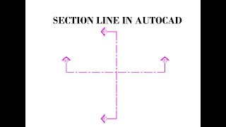 HOW TO MAKE SECTION LINE IN AUTOCAD|TOP CIVIL ENGINEERING VIDEOS|LEARNING AUTOCAD