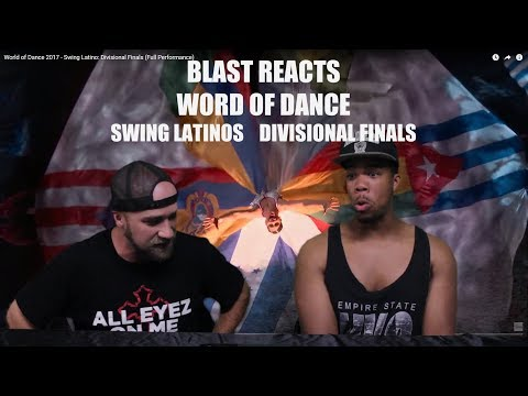 World of Dance 2017 Swing Latinos Divisional Finals Reaction