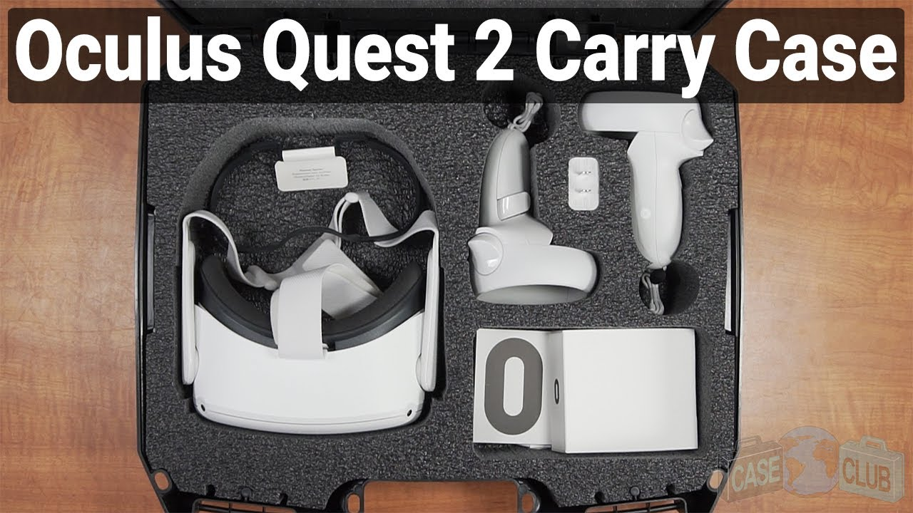 Oculus Quest 2 Carry Case - Video