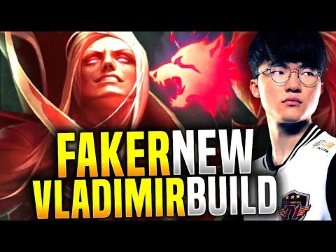Faker Plays Predator Vladimir, New Meta? - SKT T1 Faker Picks Vladimir Mid! | SKT T1 Replays