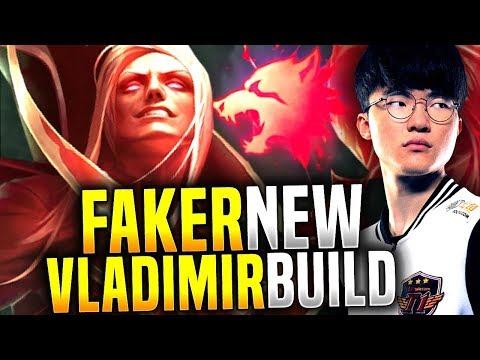 Faker Plays Predator Vladimir, New Meta? - SKT T1 Faker Picks Vladimir Mid! | SKT T1 Replays