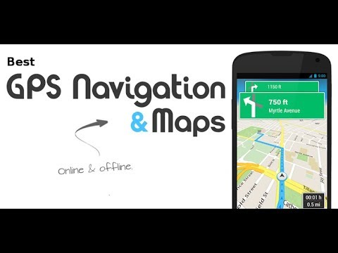 Top 10 Best GPS & Navigation Apps For  Android || Nayyar Karajagi