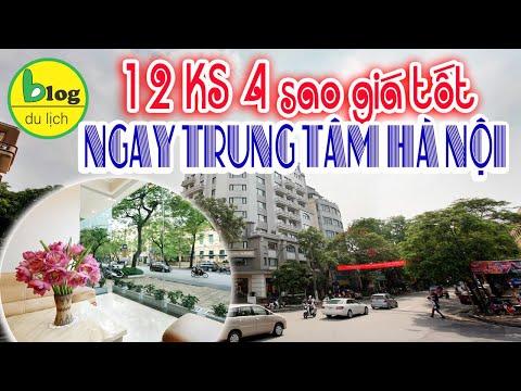 Top 12 khách sạn 4 sao Hà Nội giá tốt gần ngay trung tâm