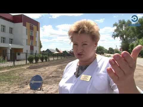 В Кузнецке выравнивают дорогу возле детской городской больницы
