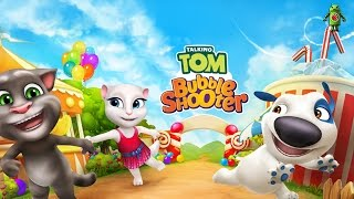 Talking Tom Bubble Shooter (iOS/Android) Gameplay HD